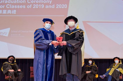 Prof Hongbo FU receives Distinguished Research Award 2020