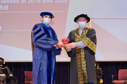 Prof Jeffrey SHAW receives Distinguished Research Award 2019